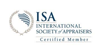 ISA International Society of Appraisers Certified Member